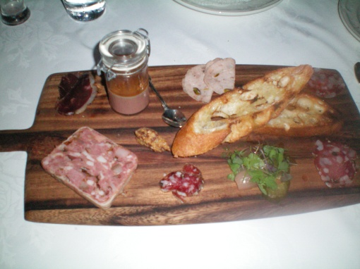Housemade Charcuterie And Pickles